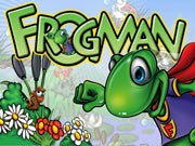 Frogman - free arcade game on ToomkyGames
