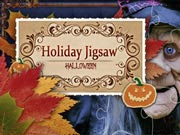 Holiday Jigsaw. Halloween - free Halloween game on ToomkyGames