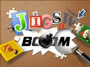 Jigsaw Boom - free colorful jigsaw puzzle game on ToomkyGames