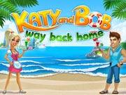 Katy and Bob: Way Back Home - free business game on ToomkyGames