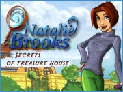 Natalie Brooks - Secrets of Treasure House - free hidden object game on ToomkyGames