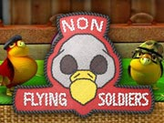 Non Flying Soldiers - free brain teaser game on Toomkygames