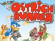 Ostrich Runner - juego de aventure gratuito en ToomkyGames