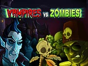 Vampires vs. Zombies - free Halloween game on ToomkyGames