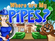 Where are my pipes? - free brain teaser game on ToomkyGames