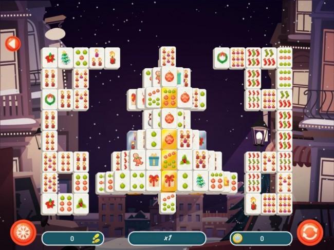 Christmas Mahjong 2