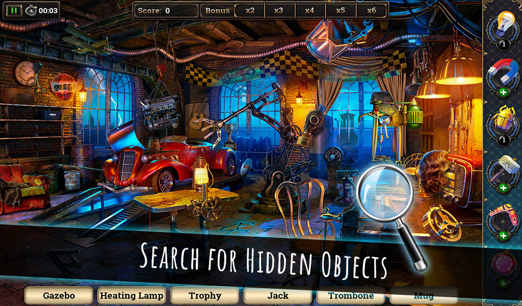 Coastal Hill: Hidden Objects
