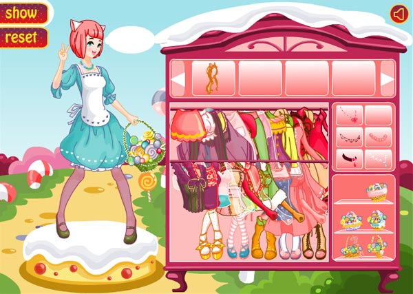 Cute Candy Doll: dress up