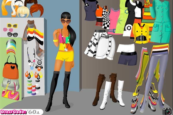 Dress code: 60's