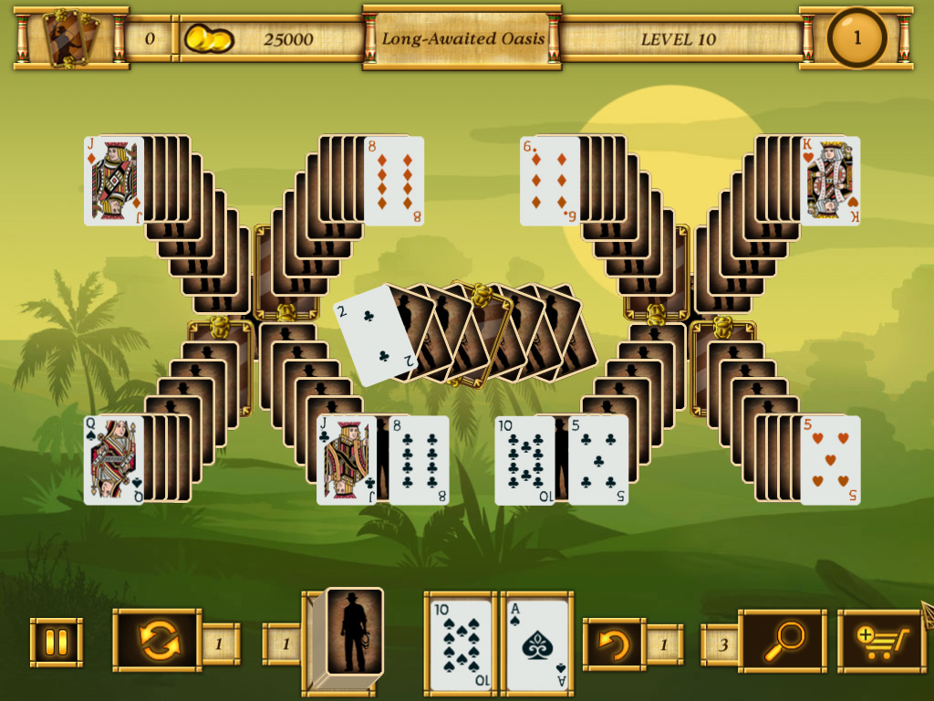 Egypt Solitaire: Match 2 Cards