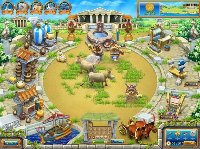 Farm Frenzy: Ancient Rome