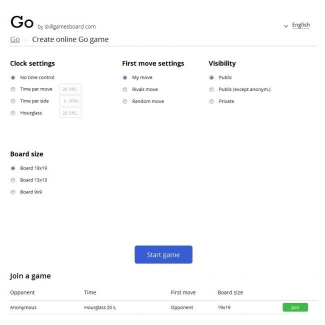 Go by SkillGamesBoard