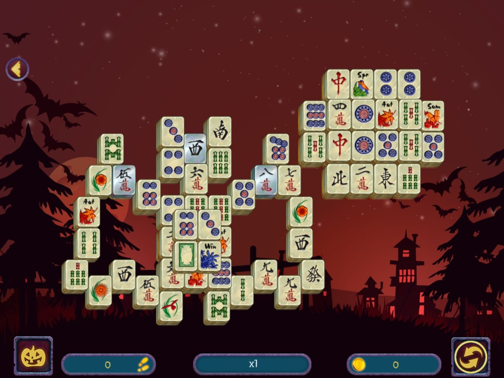 Halloween Night 2: Mahjong