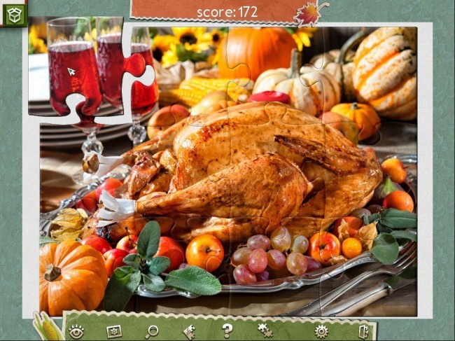 Holiday Jigsaw: Thanksgiving Day 2