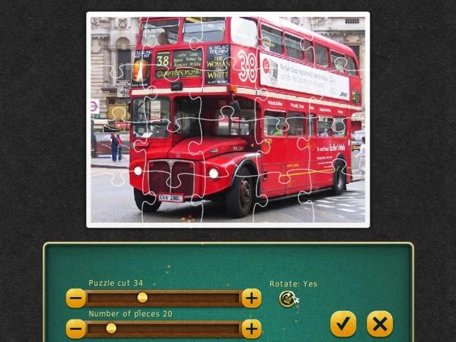 Jigsaw Tour: London
