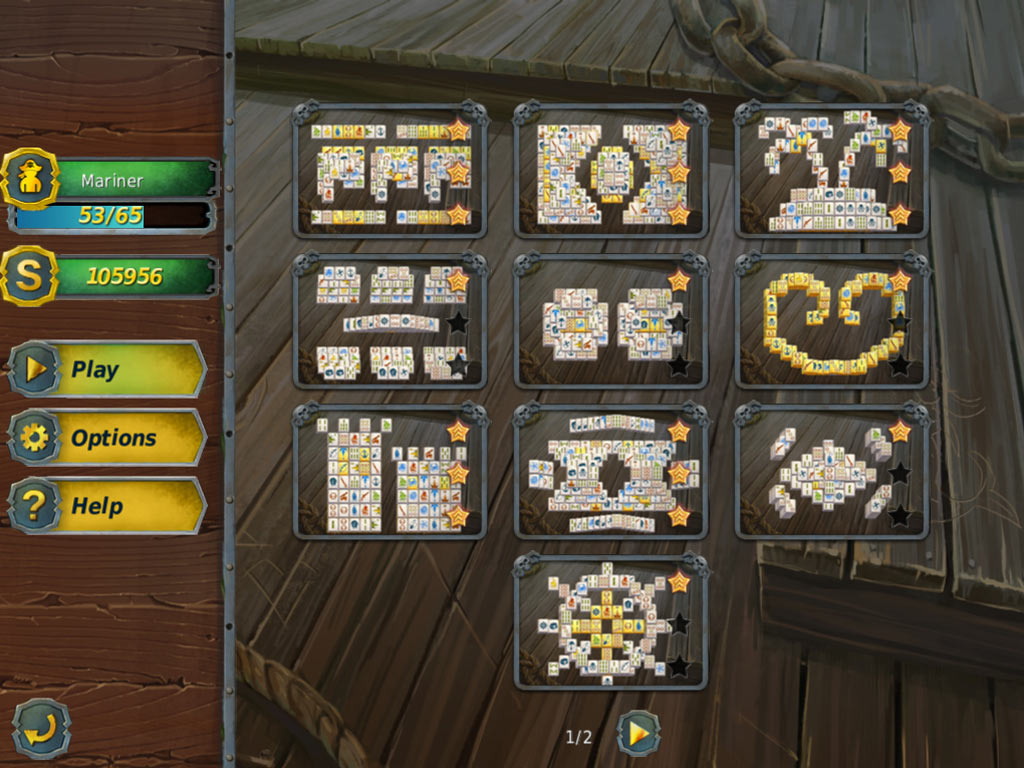 Mahjong Gold 2: Pirate Island