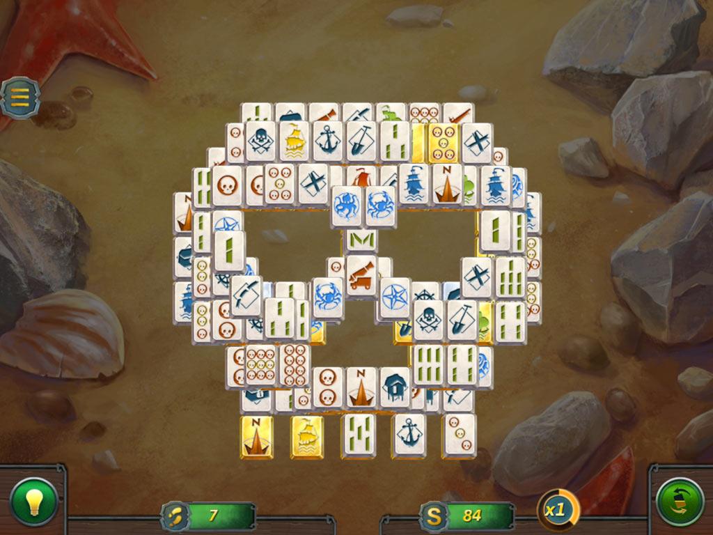 Mahjong Gold 2: Pirate Island