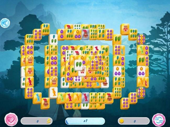 Mahjong: Valentine's Day