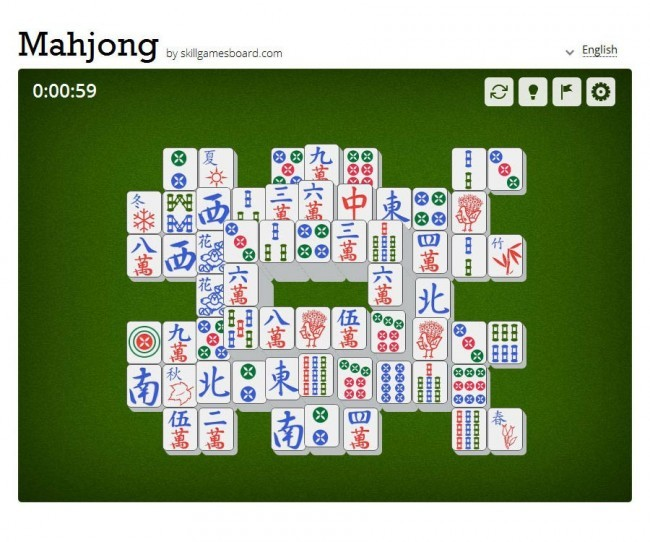 Mahjong by SkillGamesBoard