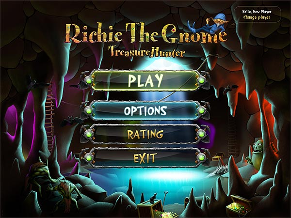 Richie the Gnome: Underground Treasures