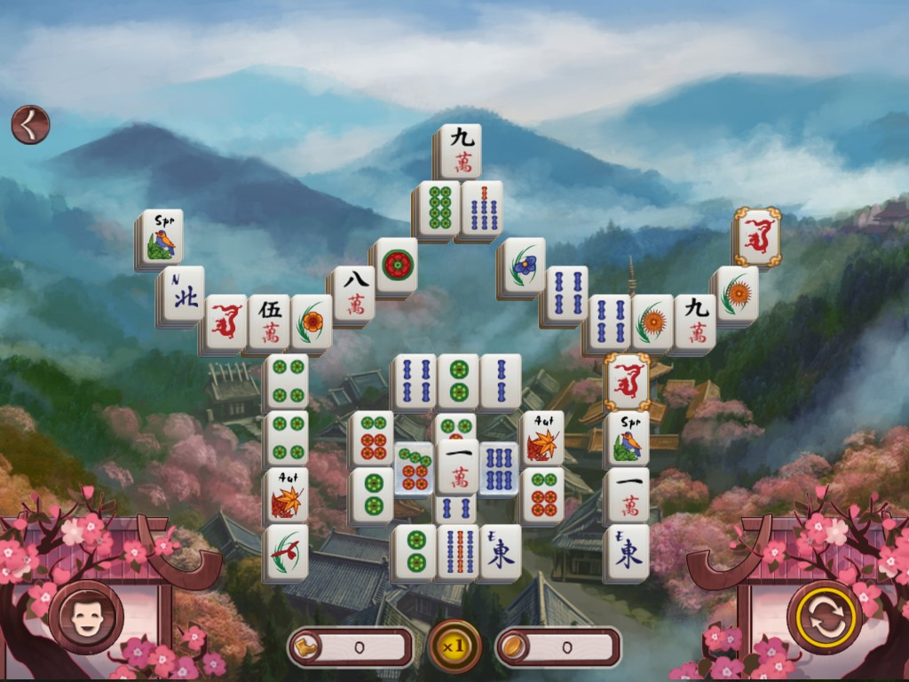 Sakura Day 2: Mahjong