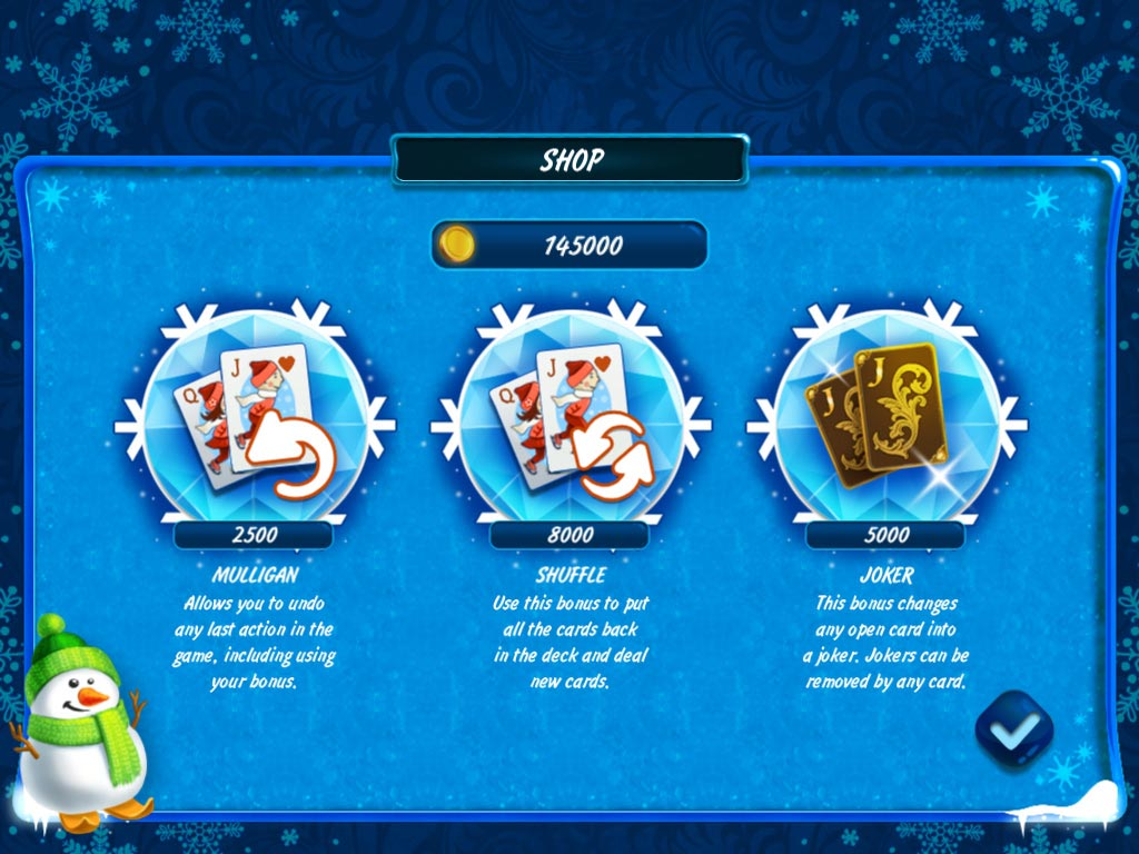 Solitaire Jack Frost: Winter Adventures 3