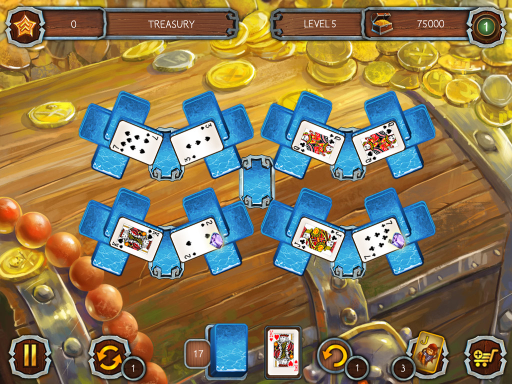 Solitaire: Legend of the Pirates 2