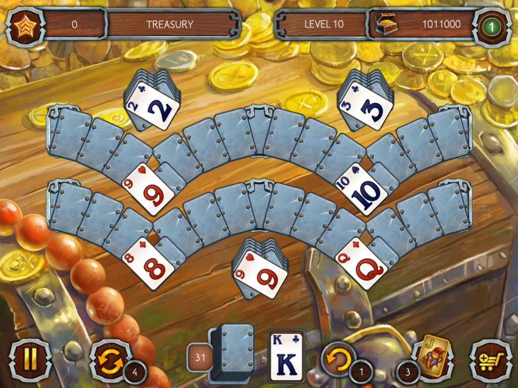 Solitaire: Legend of the Pirates 3