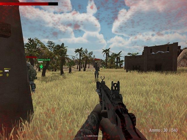 Survival In Zombies Desert