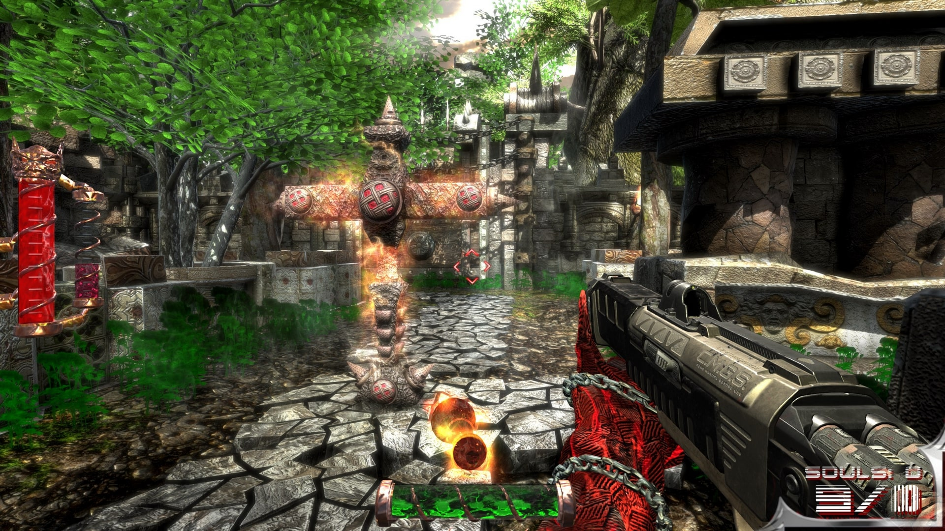 Cemetery Warrior 5