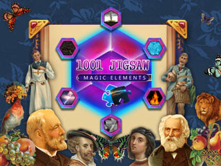 1001 Jigsaw: Six Magic Elements