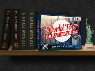 1001 Jigsaw World Tour: Great America