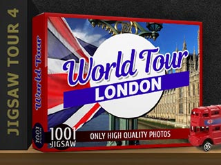 1001 Jigsaw World Tour: London