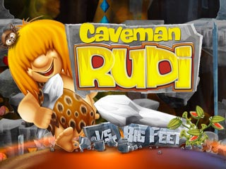 Caveman Rudi vs. Big Feet