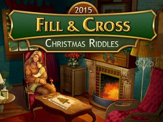 Fill and Cross: Christmas Riddles