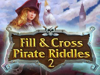 Fill and Cross: Pirate Riddles 2