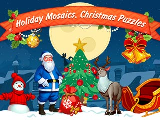 Holiday Mosaics: Christmas Puzzles