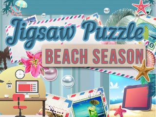 Jigsaw Puzzle: Beach Season