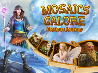 Mosaics Galore: Glorious Journey