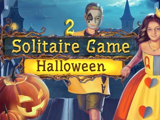 Solitaire Game: Halloween 2