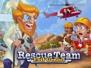 Rescue Team 9: Evil Genius